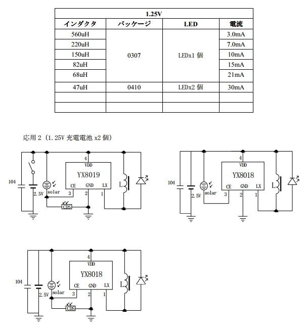 YX8018 Circuit